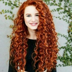 Copper Red Beauty Lace Front Wig
